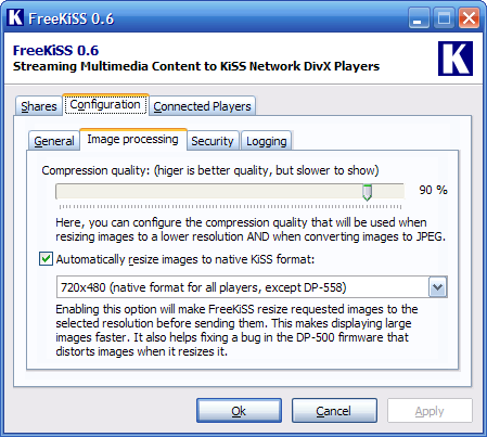 FreeKiSS Screenshot